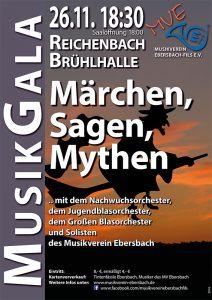 Plakat MusikGala 2016